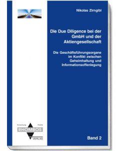 Die Due Diligence bei der GmbH und der Aktiengesellschaft